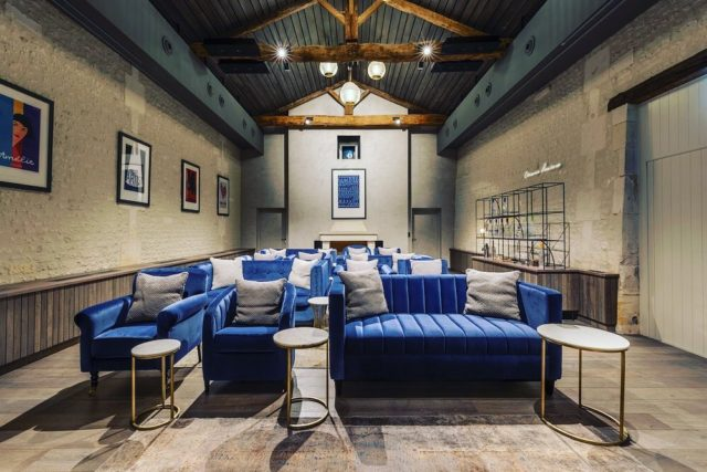 ✨The Cinema Lumiére is designed to delight and intrigue the Château guests; to give them a truly French experience, all rounded off with the luxurious sophistication embodied by Grey Goose...✨ . #architecture #cinemastyle #boutiquestyle #designinspo #interiordesign #interiordesigner #bespokefurniture #makersofinstagram #architectsvision #architectsofinsta #luxurylifestyles #château #chateaulife #greygoose #frenchstyle #traditionaldecor #contemporarytwist #modernartists #modernmakers #crafted #interiorinspiration #applieddesign #appliedstudio
