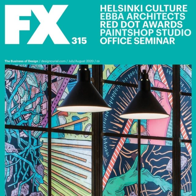 Thank you @fxdesignmag for featuring our work for @wearehipchips - inc on the cover with amazing mural by @_murugiah! . #architecture #design #designers #designinspiration #interiors #mural #art #restaurants #restaurantstyle #restaurantdesign #restaurantinterior #hipchips #londonrestaurants
