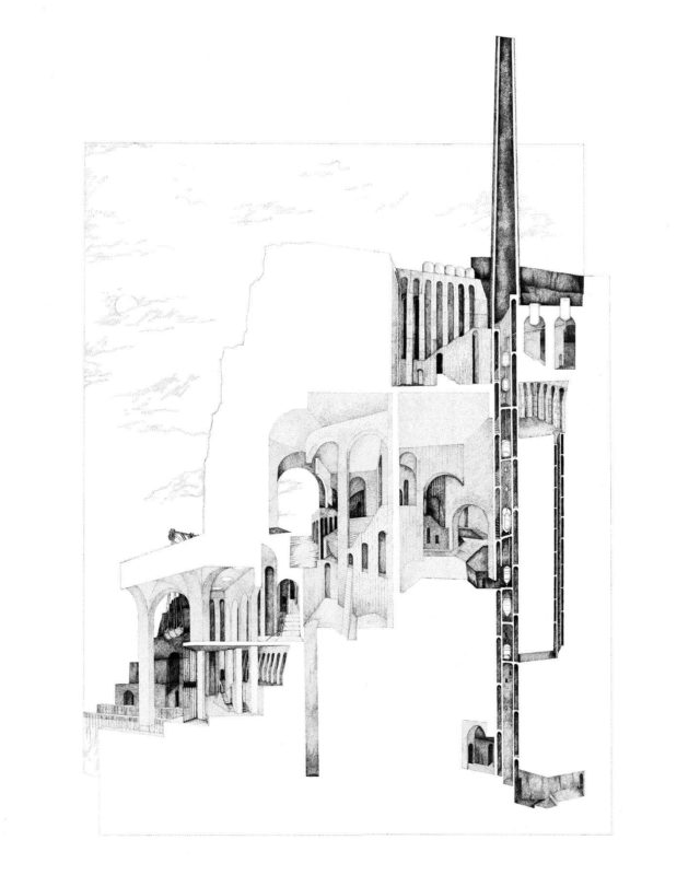 @ameliadarceyblack, one of Applied Studio's team members, has recently been awarded a commendation in the @archisource 'Drawing of the Year Awards' for her 5th Year MArch project... . Nice work, Amelia - well done!  . #architecture #design #drawing #sketching #awards #archisource #appliedstudio