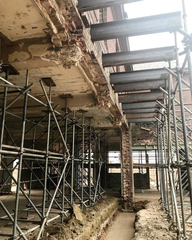 Getting ready on site... coming end of 2018 to an Oxfordshire near you! . #hotel #bar #restaurant #bowlingalley #cinema #architecture #interiordesign #oxfordshire #steel