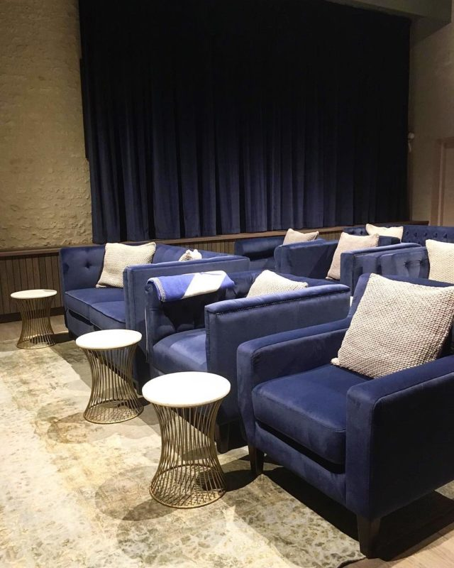 Our #boutique (aka smallish) #cinema in a #Bordeaux #chateau. Slowly nearing completion. With @ragged_edge. Slowly...